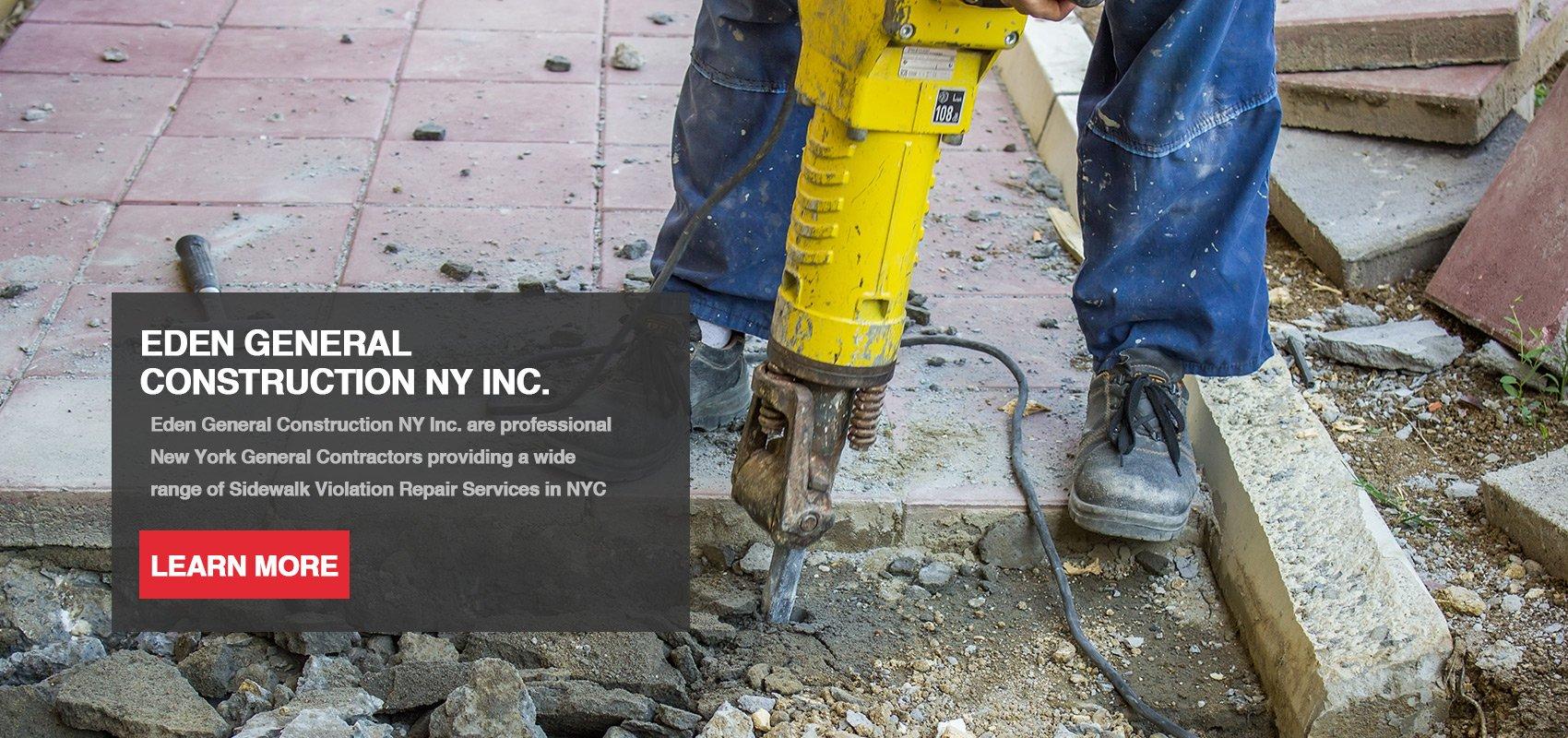 NY Sidewalk Violations